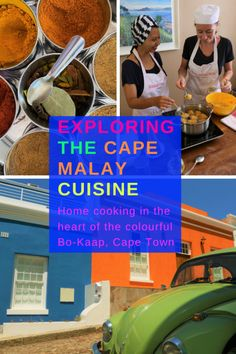 Cook the favourite Cape Malay recipes in the heart of Bo-Kaap, the most colourful neighbourhood of Cape Town! Luang Prabang, Travel Guides, Travel Tips, Travel Essentials, Budget Travel, Travel Couple, Family Travel, Laos, Malay Food