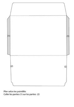 An Envelope Template To Be Used For X Photos Downloads - 4x6 envelope template