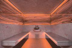 Steam Sauna, Steam Bath, Steam Room, Sauna Design, Modern Home Bar, Sauna Room, Spa Water, Spa Rooms, Turkish Bath