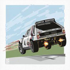 Maserati, Bugatti, Syd Mead, Martini Racing, Lancia Delta, Automotive Art, Rally Car, Car Wallpapers, Art Cars