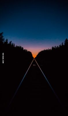 The railroad last night