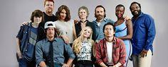 ¿Como llegaron los actores a The Walking Dead?