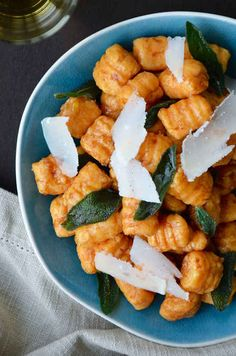 Sweet Potato Gnocchi with Balsamic Brown Butter