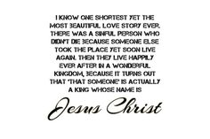 Did you recognize this love story? #JesusChrist #God #lovestory #christianity #romance