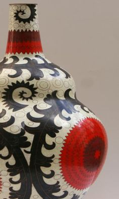 Fabienne Jouvin Cloisonne in the Ouzbek Pattern