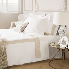Contrasting Linen Bedlinen - Bed Linen - Bedroom | Zara Home United Kingdom