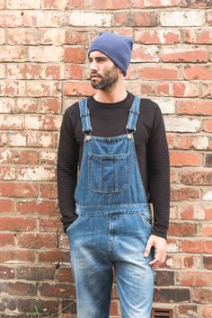 Men's Dungarees, Bib Overalls, Love Jeans, Bibs, Loose Fit, Indie, Core, Street Style, Window Boxes