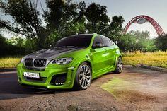 Emerald . BMW X6M Lumma №1 . by Chensan Jeep Cars, Audi Cars, Bmw X Series, Bmw Suv, Street Racing, Luxury Suv, Expensive Cars, Fast Cars, Cool Cars