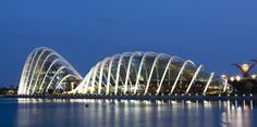Wilkinson Eyre's Cooled Conservtories at Gardens by the Bay in Singapore : Azure