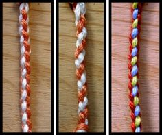 3 braids stitched