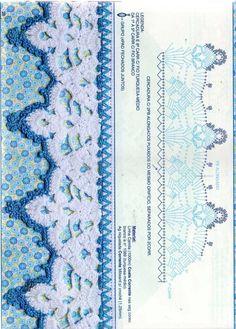 Новости Angel Crochet Pattern Free, Crochet Lace Edging, Crochet Borders, Crochet Chart, Crochet Squares, Crochet Trim, Love Crochet, Irish Crochet, Vintage Crochet