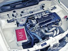 Best Honda Images On Pinterest In Honda Civic Coupe - Acura integra type r engine