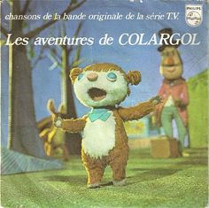 C'est moi qui suit Colargol, l'ours qui chante en fa en sol ...