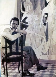 Wifredo Lam was a Cuban artist who sought to portray and revive the enduring Afro-Cuban spirit and culture. Inspired by and in contact with some of the most renowned artists of the 20th century, was born December 8, 1902, Sagua La Grande, Cuba, died	September 11, 1982 (aged 79) Paris, France
