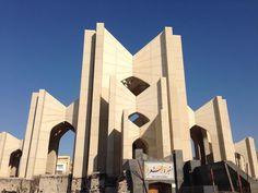 Mausoleum of Poets in Tabriz, Iran.