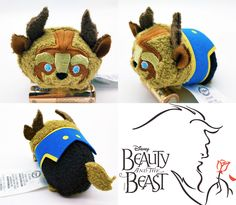 First look at the Beast Tsum Tsum! I must collect them all from beauty and the beast