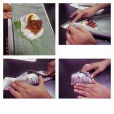 Cara bungkus nasi lemak