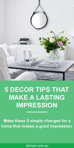 5 simple changes for a home that makes a lasting impression // selling and real estate styling tips Interior Styling, Interior Decorating, Interior Design, Decorating Ideas, Home Renovation, Home Remodeling, Romantic Bedroom Decor, Home Staging, House Colors