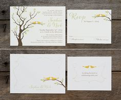 Everything you need to know about Wedding Invitations & Stationery From 7 of Toronto's Top Designers - EventSource.ca Blog. These designs courtesy of Laura K Invitations.
