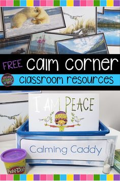 Free resources to help support and build your classroom calm corner! Build a classroom space to support students who may have had difficulty self-regulating or just need time and space to regroup - a classroom calm corner or mindfulness corner. Print and create your own! Tips for introducing a calm corner included too! Teaching Second Grade, Second Grade Teacher, 2nd Grade Classroom, First Grade Teachers, 3rd Grade Math, Third Grade, Calm Classroom, Create Your Own Book, First Day Activities