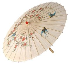 Chinese Parasol | CHINESE PARASOL 100CM DIA - Hats and Umbrellas