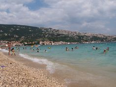 """Beach """"Vela plaza"""" , Krk"""