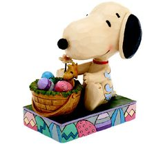 Jim Shore Peanuts Hooray for the Easter Beagle