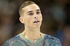 Adam Rippon (born November is an American figure skater. Adam was selected to represent USA at the 2018 Winter Olympics in Pyeongchang, South Korea. This made him the United States' first openly gay athlete ever to qualify for any Winter Olympics. Nbc Olympics, 2018 Winter Olympics, Male Figure Skaters, Figure Skating, Ice Skating, Weightlifting For Beginners, Olympic Weightlifting, Adam Rippon, Mike Pence
