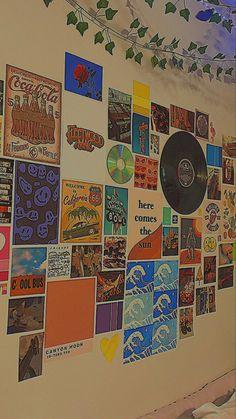 Indie Bedroom, Indie Room Decor, Cute Bedroom Decor, Teen Room Decor, Aesthetic Room Decor, Room Ideas Bedroom, Grunge Room, 90s Grunge, Grunge Outfits