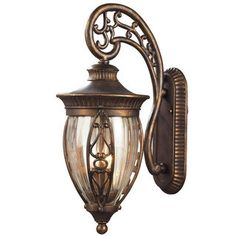 Elk Lighting Essex Way Collection 2-Light Lantern Wall Mount - Free Shipping Today - Overstock.com - 14741355 - Mobile