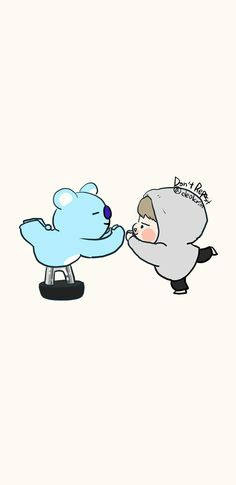 ❤ koya and Rap Monster Namjin, Jimin Fanart, Kpop Fanart, Bts Chibi, Bts Billboard, Cartoon Fan, Bts Korea, Bts Drawings, Line Friends