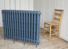 A great heat source cast iron radiators are a wonderful heat source with good looks. They fit into the modern or traditional home as well as homes who want an industrial look. It is a Carron radiator which is 810mm tall and is 16 sections long and gives a heat output of 7648 BTU's