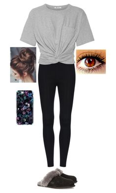 """""""Untitled #921"""" by bazingabrittany on Polyvore featuring T By Alexander Wang, UGG Australia and Typhoon"""