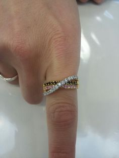 My new favorite mother's ring .. Geraci Jewlery