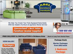 Thank you for visiting us at Abel Furniture Rentals, Brisbane  We provide a large range of Household items for rental, please explore our we...