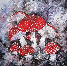 Intricate work by batik artist Mary Kaminskaya! Mushroom Drawing, Mushroom Art, Batik Art, Batik Prints, Amazing Paintings, Amazing Art, Growth And Decay, Textiles Techniques, Silk Art