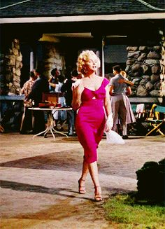 "Marilyn Monroe as Rose Loomis in ""Niagara"" 1953"