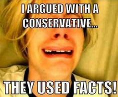 LOL...this would be funny if it wasn't sooo true!  Use a little fact with a snowflake and they melt and make a mess!