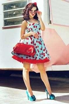 scenary pin up, rockabilly