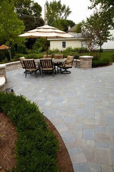 expand slab patio with paver stepping stones yard ideas pinterest - Patio Stone Ideas With Pictures