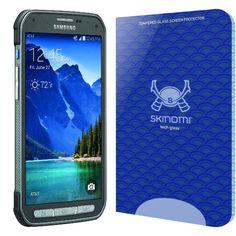 Samsung Galaxy S5 Active Screen Protector, Skinomi Tech Glass Screen Protector f #Skinomi