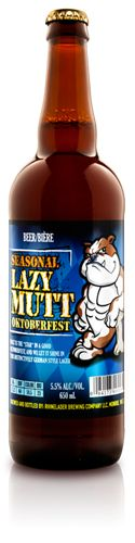 Minhas Micro Brewery | Seasonal Lazy Mutt OKTOBERFEST - Malt is the star in a good Oktoberfest, and we let it shine in this distinctively German style lager.