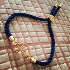 Modrý zirkónový náramok s krížikom, MBZ022 Bracelets, Men, Jewelry, Fashion, Jewerly, Moda, Jewlery, Fashion Styles, Schmuck