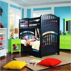 Lea My Style Twin Over Twin Bunk Bed...   $3,505.00