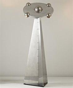 lampadaire soucoupe - Yonel Lebovici