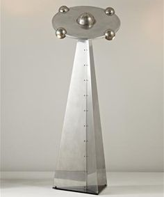 lampadaire soucoupe Yonel Lebovici, 1972