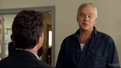 "Tim Robbins in a scene from  ""Thanks For Sharing."" See the trailer for the upcoming film here: http://www.deadline.com/2013/06/530196/"