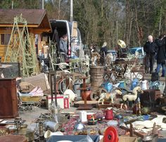 French Flea Market ~ so much to see!