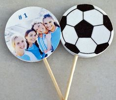 Hey, I found this really awesome Etsy listing at https://www.etsy.com/listing/198763639/6-custom-photo-sports-cupcake-and-food