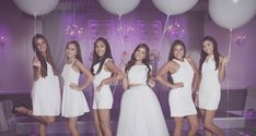 How many people can say that they've been to an all white quinceanera? Very few, which is why we love this elegant & unique theme!